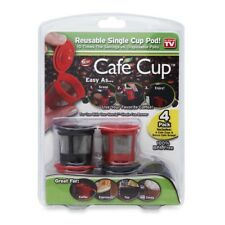 Cafe Cup Reusable Single Cup Pod As Seen On TV New READ