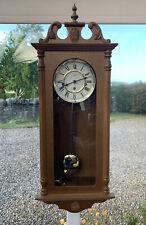 Hermle Modern Wall Clock Oak Cased, Westminster Chiming.