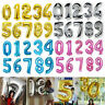 """40"""" Giant Foil Number Balloons Wedding Letter Air Helium Birthday Age Party New"""