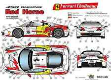 "[FFSMC Productions] Decals 1/32 Ferrari F-458 Challenge ""Red Horse"" (Non Race)"