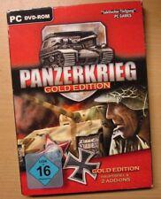 Panzerkrieg - Gold Edition Spiel Sammlung selten Burning Horizon Blitzkrieg