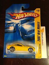 Ferrari 599 GTB YELLOW * NEW MODELS CARD #14* 2007 Hot Wheels D1