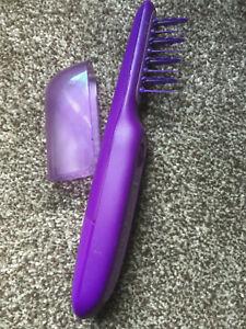 Remington DT7432 Electric Detangling Brush, Purple V Good No Box