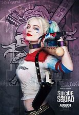 Suicide Squad Movie Poster (24x36) - Harley Quinn, Margot Robbie, The Joker v9