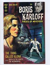 Boris Karloff Tales of Mystery #25 Gold Key 1969