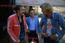 James Hunt & Clay Regazzoni F1 retrato italiano Grand Prix 1977 fotografía
