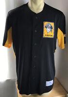 Pittsburgh Pirates Mens Jersey Large MLB Genuine Merchandise TX3 Cool NEW Retro