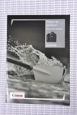 Canon EOS 1Dx Camera Brochure - Power to Perform, Performance Redefined - New