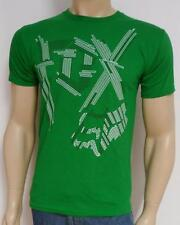 Fox Racing Static Tee Green Cotton Graphic T-Shirt New NWT Men's Small