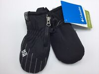 Columbia Mittens Baby Infant Chippewa Mitten One Size Black NEW Tags