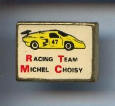 RARE PINS PIN'S .. AUTO CAR 24H LE MANS MICHEL CHOISY TEAM / BMW PROTO   ¤2K