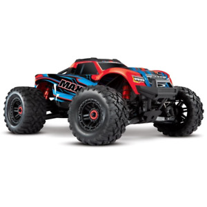 Traxxas Maxx 4S 1/10 Brushless Electric Monster Truck (RedX) 89076-4 Brand New
