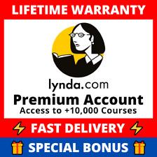 🔥👑 LYNDA Linkedin Learning Premium Accoùnt 👑🔥 skillshare pluralsight udemy