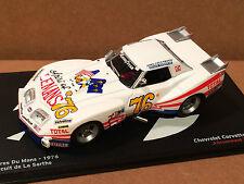 Nice 1/43 1976 Chevrolet Corvette Lemans Ixo/Altaya Greenwood Darniche