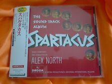 "ALEX NORTH ""SPARTACUS"" classic Stanley Kubrick Score JAPAN 1st. Pressing OST CD"