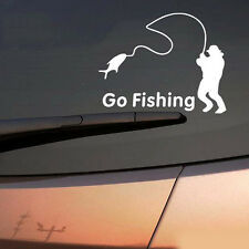 New Go Fishing Vinyl Car Graphic Reflective Vehicle Sticker Decal Decor Auto CN