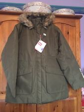 New With Tags Helly Hansen Women's Jacket Size XL 16 Olive Green