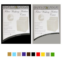 """2X Zippered Washing Machine Cover Top Dust Protection Waterproof 30"""" X 26"""" X 41"""""""