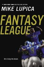 Fantasy League- He's Living The Dream by Mike Lupica (2015, Paperback)