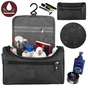 Men Women Travel Toiletry Bag Wash Kit Cosmetics Shaving Makeup Case Organizer
