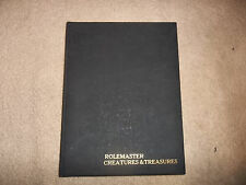 Rolemaster RPG Creatures & Treasures Limited Edition