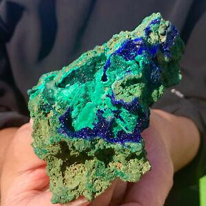 260G BEST NATURAL Azurite/Malachite crystalminerals specimens