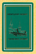 Kentucky Derby Churchill Downs playing card single swap jack of clubs - 1 card