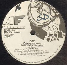 PUMP - Makin' Love In The Jungle - Feat Russ Brown - MF Records