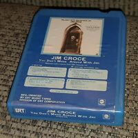 You Don't Mess Around with Jim Croce 8 Track Tape cartridge LATE NITE BARGAIN