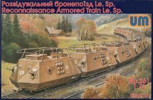 UniModel 1/72 German Armoured Reconnaissance Train Le.Sp