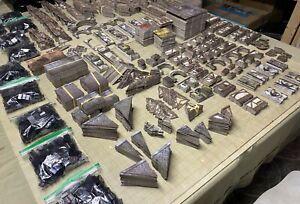 Terraclips - Buildings of Malifaux x10 Sets plus Clips x10 - D&D Terrain