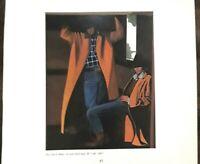 "DAVID LEE DEVARY ""THIS ONE IS MINE"" COWGIRL, COWBOY, WESTERN ART PRINT,9x8"