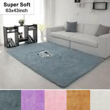 63' Fluffy Rugs Anti-Skid Shaggy Area Rug Bedroom Living Room Floor Mat Carpet