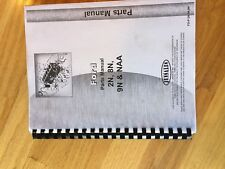 Jensales Ford Shop Tractor Parts Catalog Manualnaa 2n 8n 9n Nice