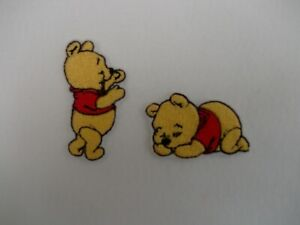 baby winnie the poo  pack of 2 patch  Motif Iron/Sew On