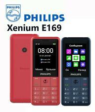 Philips Xenium E169 Dual SIM Unlocked Free Mobile Phone 1600mAh FM radio