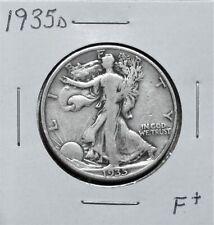 1935D F+ Problem Free W/L Half Dollar 0F26Fpu