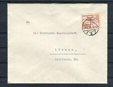 Deutsches Reich Mi.-Nr. 612 als EF auf Brief Speerwerfen Olympia 1936 - b1430