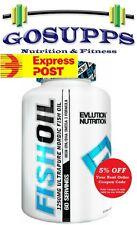 EVL EVLUTION NUTRITION Fish Oil 1250 mg 60 Serves 100% Highly Purified Leanmode
