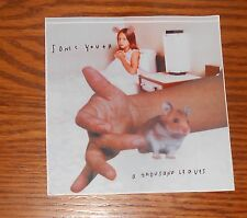 Sonic Youth A Thousand Leaves Sticker Decal Square 1998 Promo 4.5x4.5