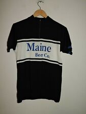 Woolistic wool cycling Short Sleeve Jersey Size XL Maine Beer Co.