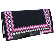 Shilloh SMx Black Pink Professional's Choice Air Ride Western Saddle Pad Prof