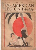 1923 American Legion March 2-Calcutta Post; 8000 miles through Red Russia;
