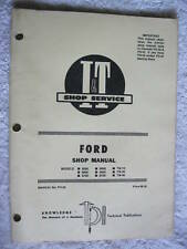 I&T FORD 8000,8600,8700,9000,9600, TRACTOR SHOP MANUAL