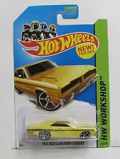 HOT WHEELS 2014 HW WORKSHOP - MUSCLE MANIA 1974 BRAZILIAN DODGE CHARGER