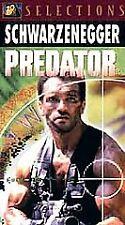 Predator~Arnold Schwarzenegger~Carl Weathers~BRAND NEW VHS~Fast 1st Class Mail