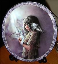 Messengers Of The Spirit The Guide Lee Bogle Native Beauty Indian Bradford Plate