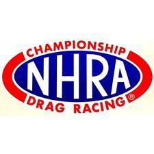 "Sticker "" NHRA Drag Racing """