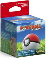 Poke Ball Plus [Nintendo Switch Accessory Pokemon Let's Go Pikachu Eevee] NEW