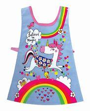 Unicorns and Rainbows Childrens Tabard Girls Apron Birthday Gift Rachel Ellen